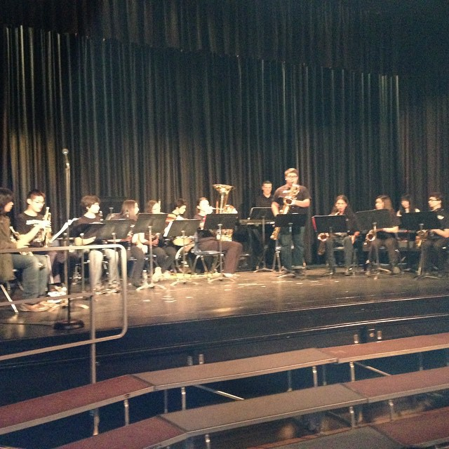 Brit Band performing at the Music of our Schools event