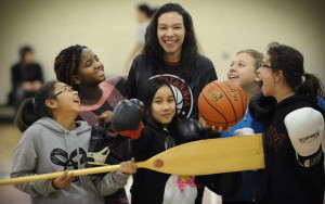 Britannia's Lauren Powell is a beacon of hope for young girls in East Vancouver. (PNG photo)